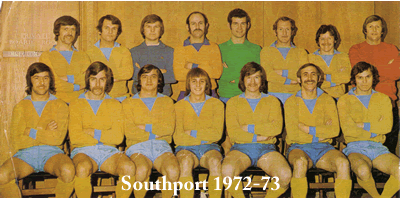 southport fc 1972-73 team